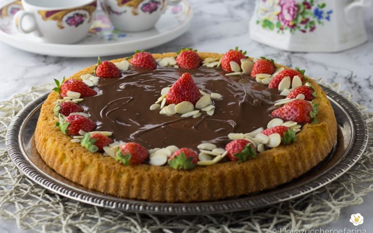 Crostata morbida con la Nutella