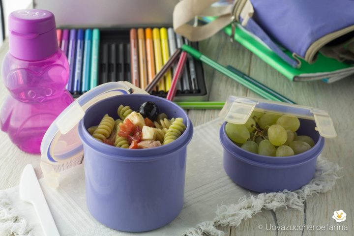 ricetta idea menu scuola lavoro lunch box