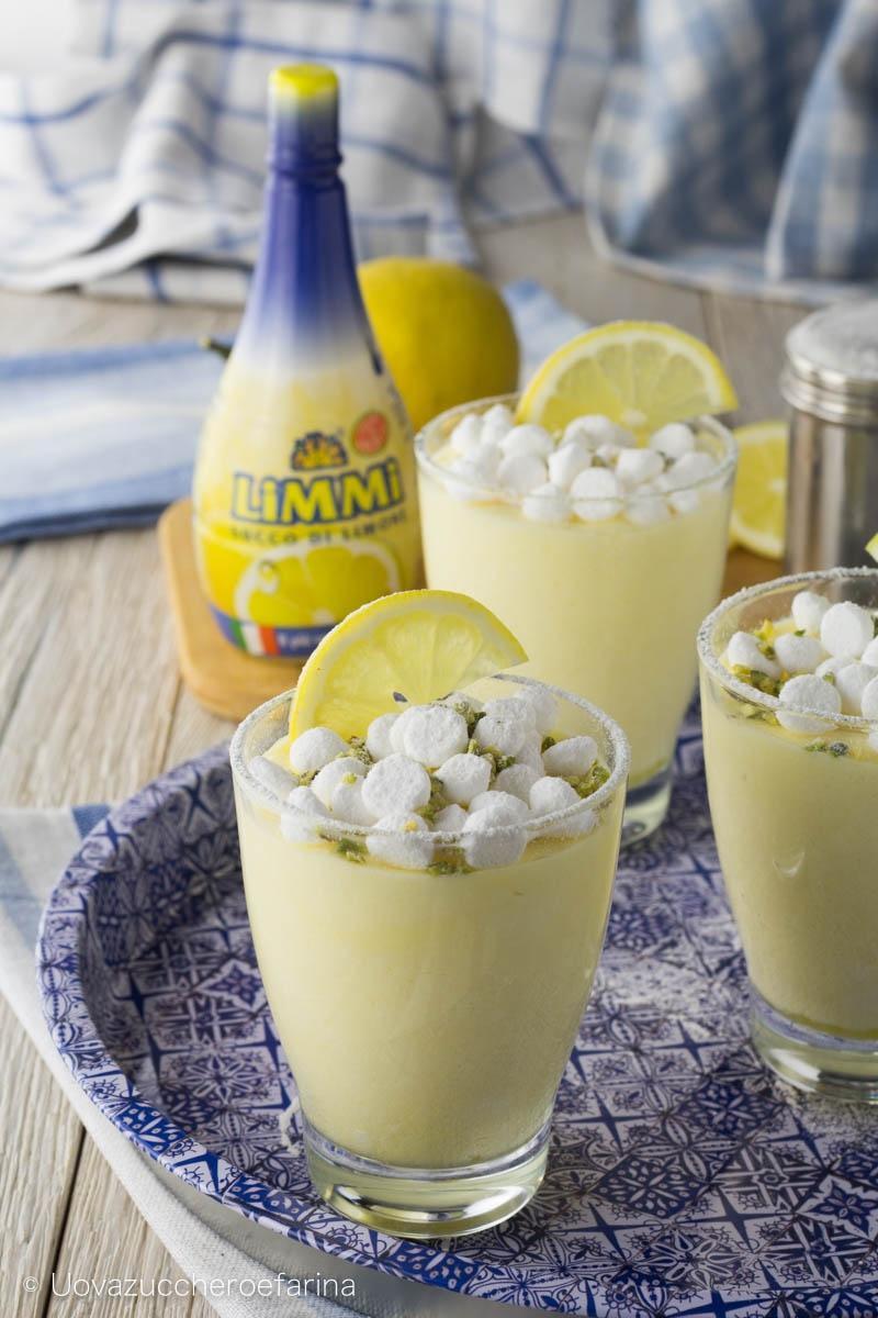mousse limone succo limmi