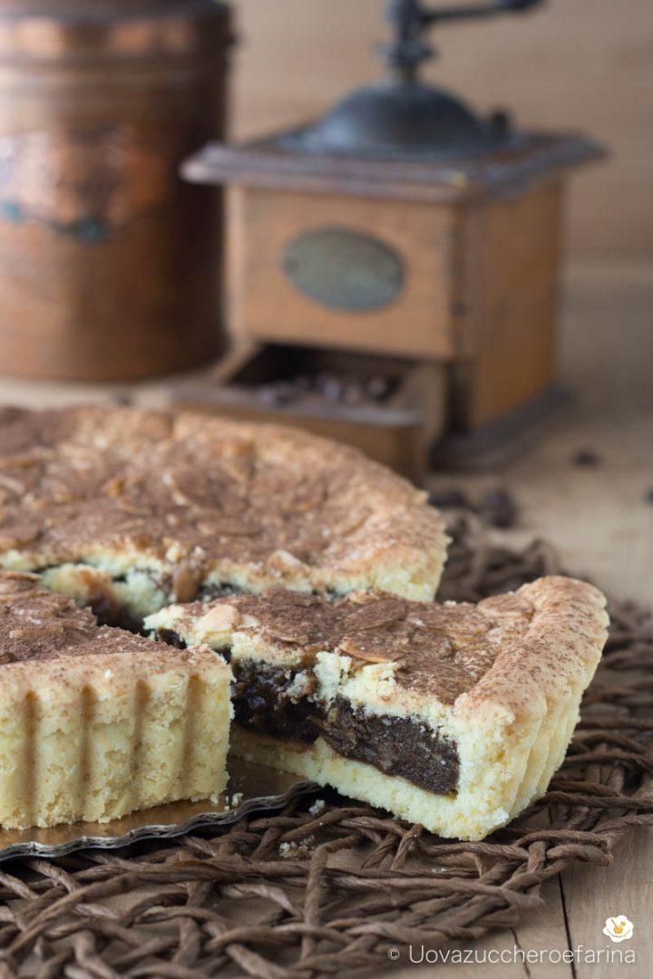 torta nonna crema caffè ricetta Monsieur cuisine plus