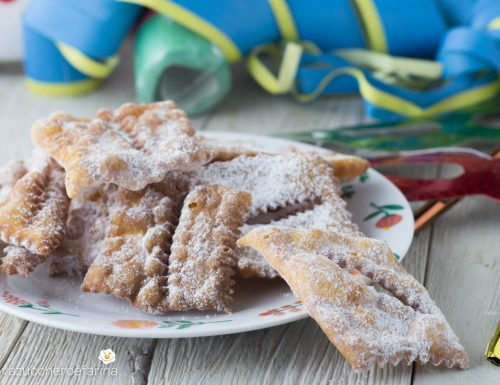 Cenci di carnevale ricetta toscana