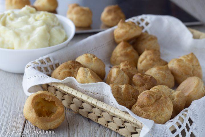 ricetta base bigne dolci salati maurizio santin