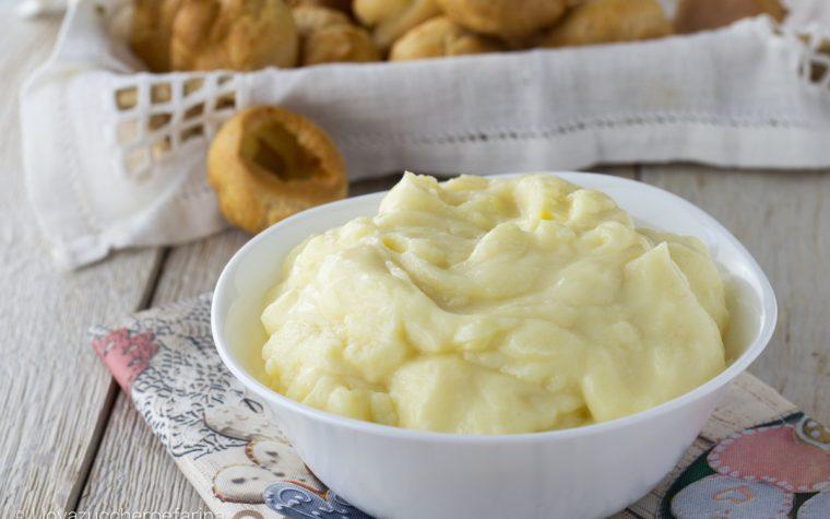 Crema pasticciera ricetta per Mambo