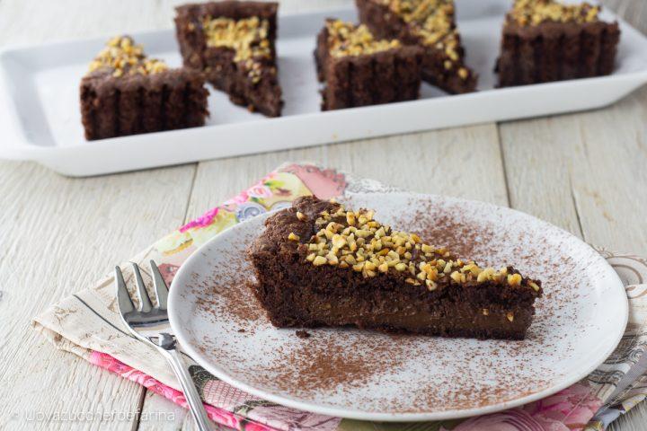 ricetta crostata cacao crema cioccolato fondente