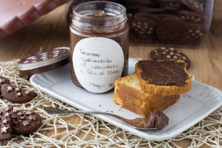 ricetta crema spalmabile cioccolato pan stelle Mambo Cecotec