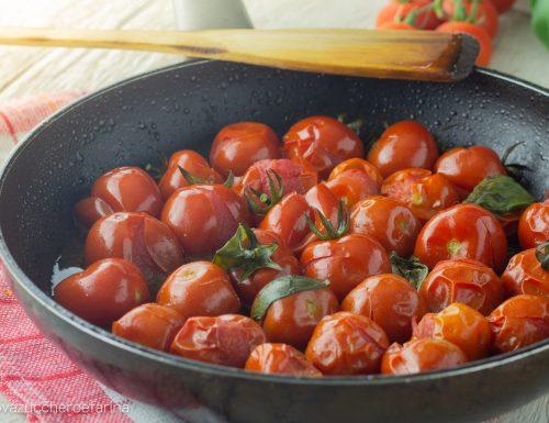 Pomodorini in padella