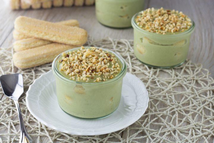 tiramisu pistacchio coppa ricetta facile