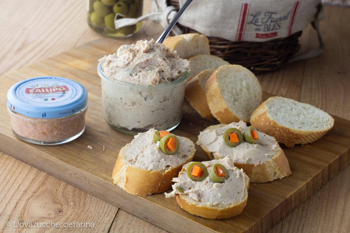 crema tonno formaggio tartine degustabox
