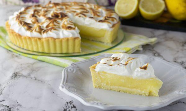 Crostata al limone meringata