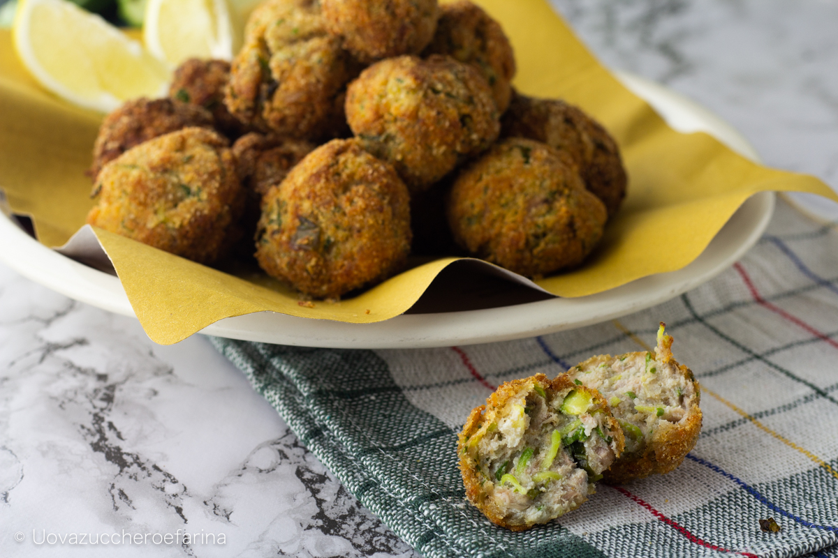polpette tonno ricotta zucchine ricetta facile