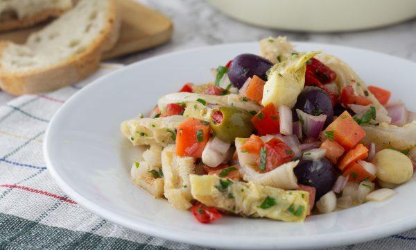 Trippa fredda in insalata