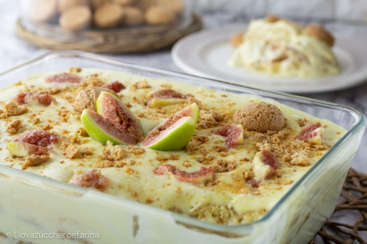 dolce crema mascarpone fichi ricetta facile