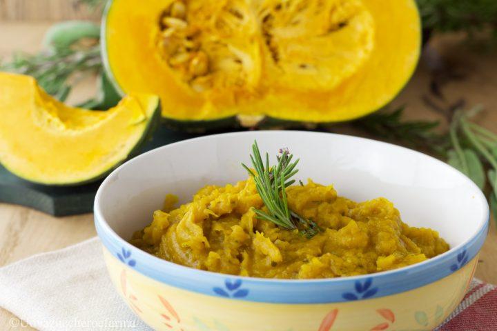 pure zucca amaretti ricetta facile