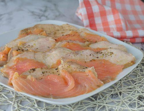 Arista e salmone affumicato