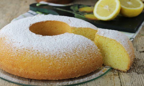 Ciambella al limone semplicissima