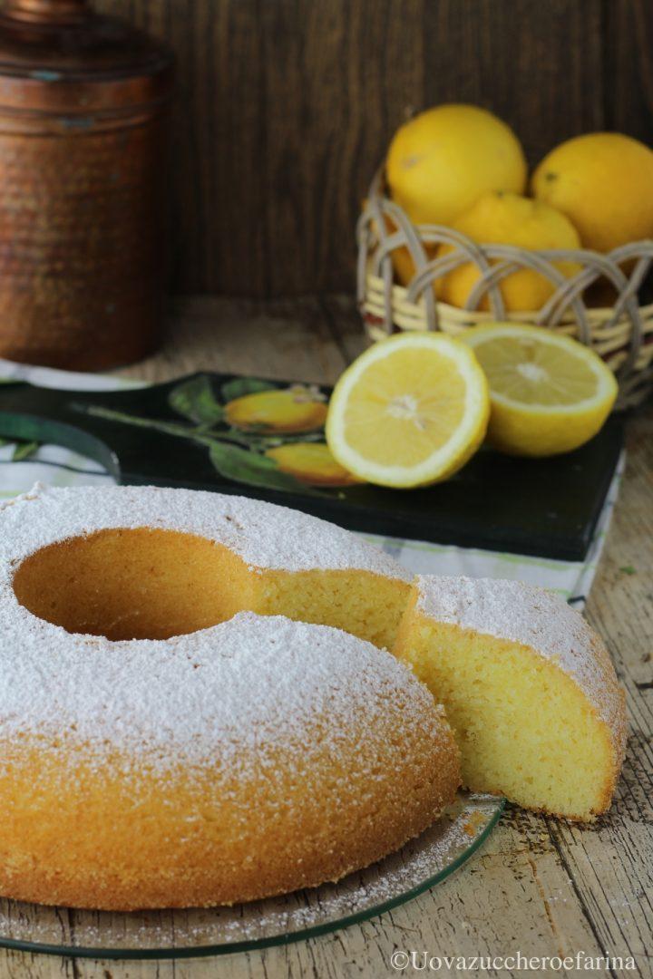 ciambella limone ricetta facile