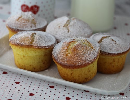 Muffin con lo yogurt greco