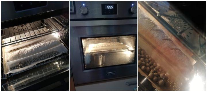 pane fatto casa tipo baguette forno