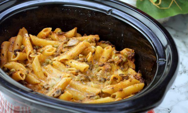 Pasta al forno nella slow cooker Chup Chup Matic