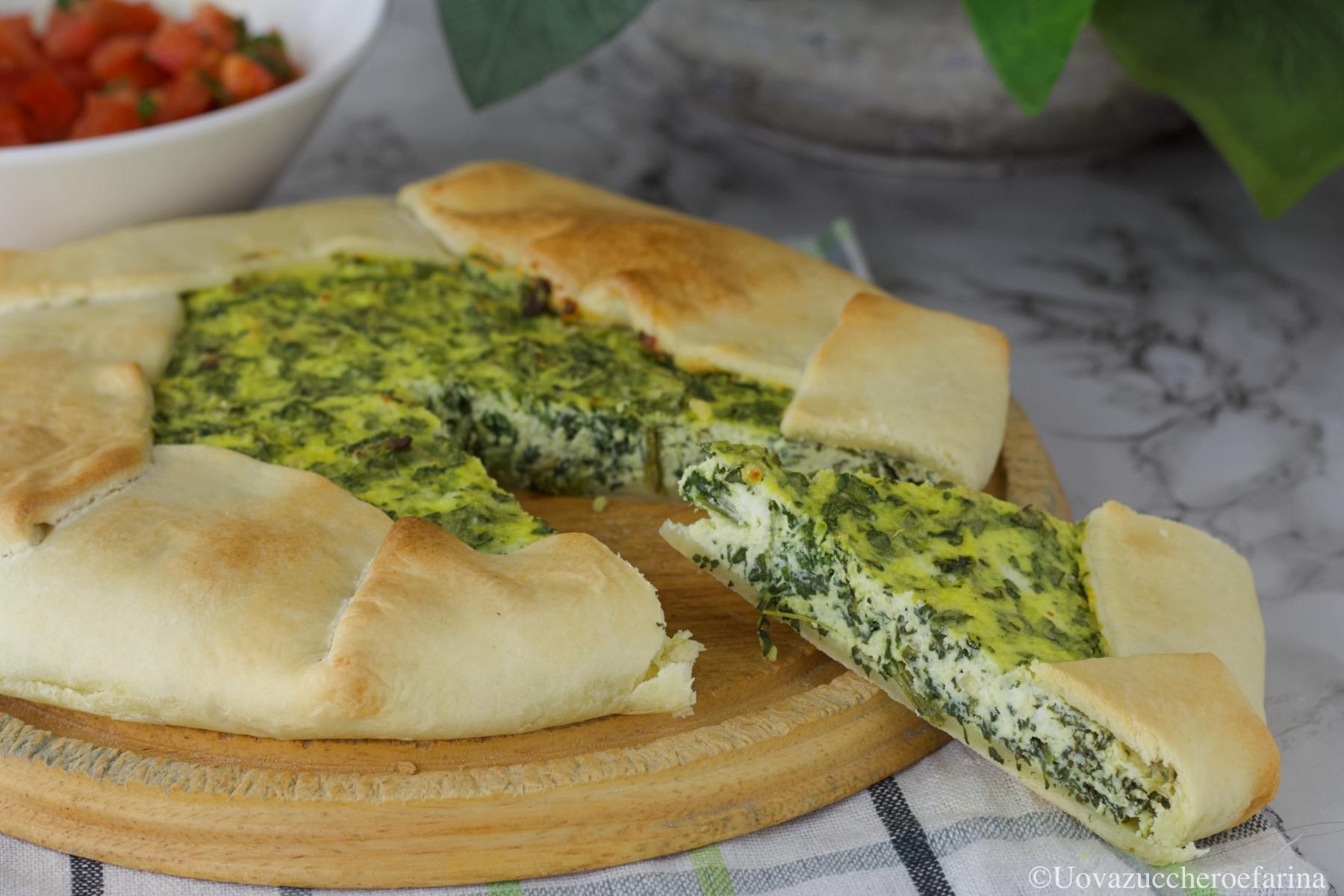 torta salata spinaci ricetta