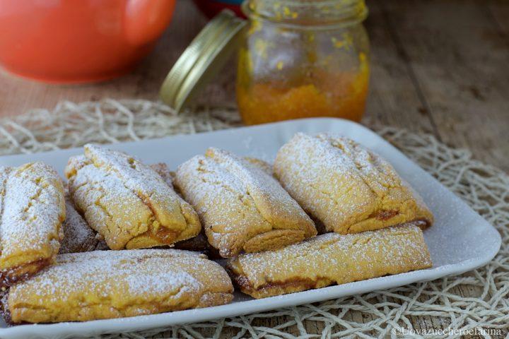 barrette pasta frolla marmellata arancia ricetta