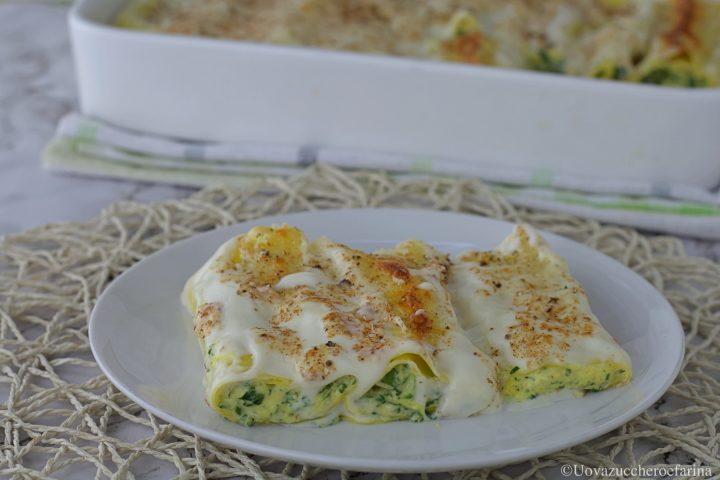 cannelloni ricotta spinaci ricetta
