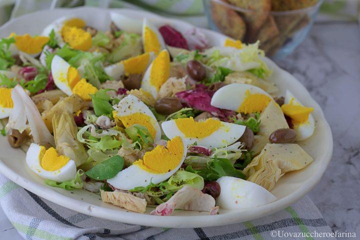 insalata pollo arrosto ricetta facile