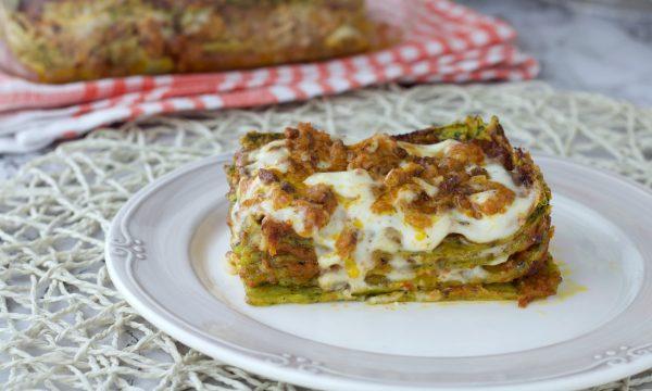 Lasagne alla bolognese con sfoglia verde