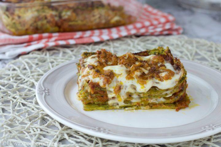 lasagne bolognese sfoglia verde ricetta