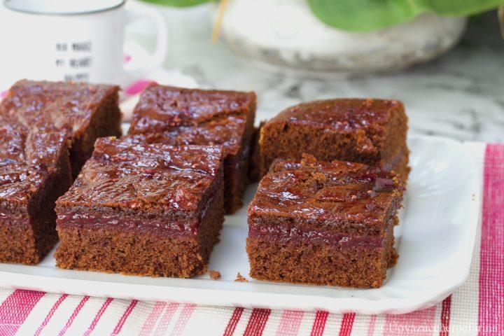 torta versata cacao ricetta facile
