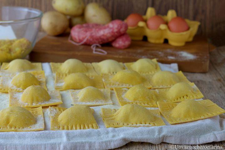 tortelli patate salsiccia ricetta