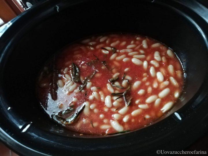 fagioli uccelletto slow cooker preparazione