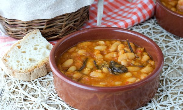 Fagioli all'uccelletto con slow cooker