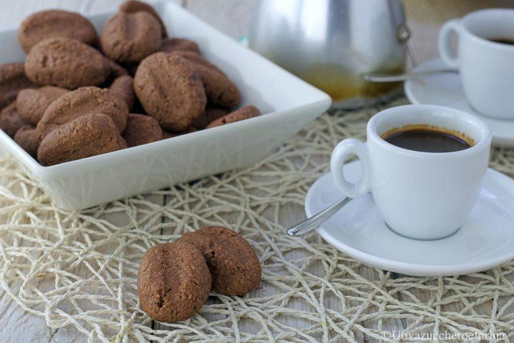 biscotti caffè ricetta Uovazuccheroefarina