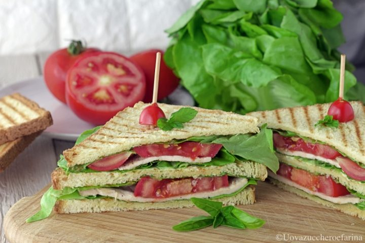 ricetta club sandwich Uovazuccheroefarina