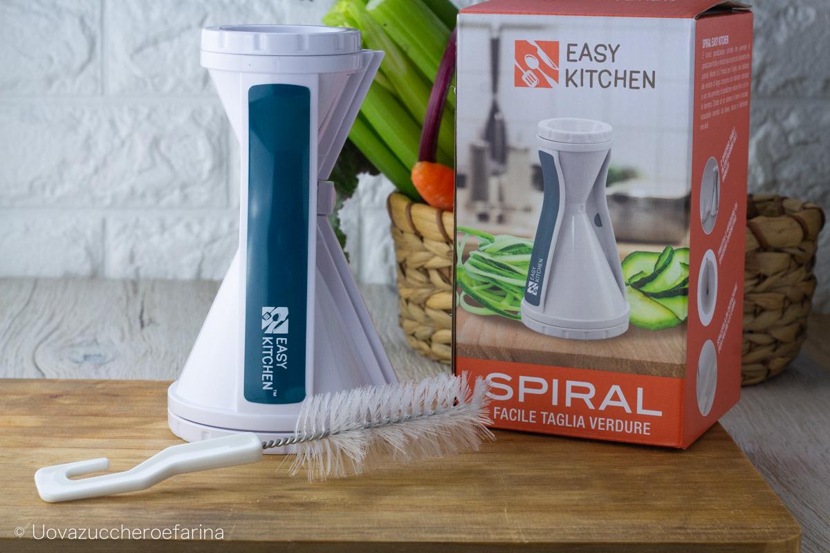spiralizzatore di verdure easy kitchen