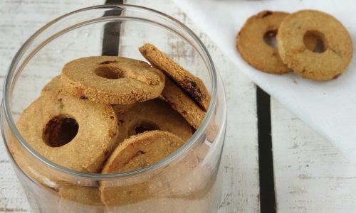 Biscotti al burro di cocco senza glutine