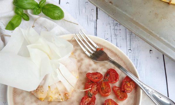 Feta al cartoccio con pomodorini