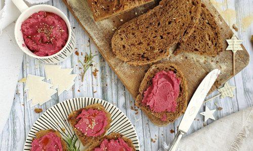 Hummus di ceci rosso