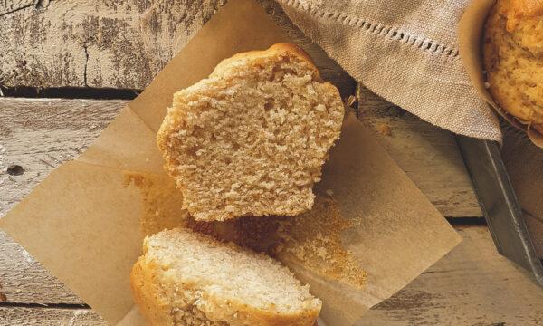 Muffin al burro d'arachidi senza uova