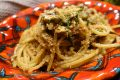 Spaghetti acciughe e finocchietto selvatico