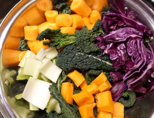 Polpette vegetali con un cuore filante