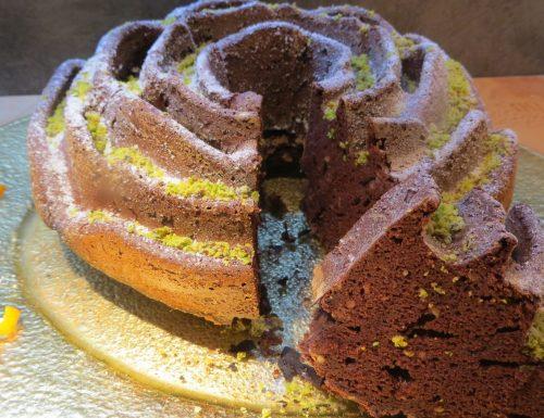 Torta di castagne morbida