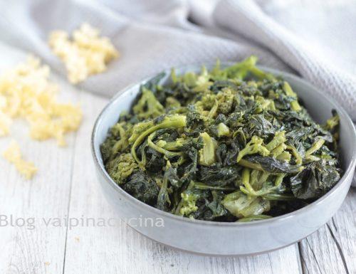 Fusilli con broccoletti e pecorino