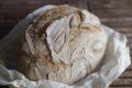 Pane a lievitazione naturale con pasta madre