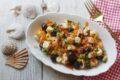Polpo in insalata con olive e carote