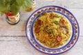 Cous cous integrale asparagi e pomodorini