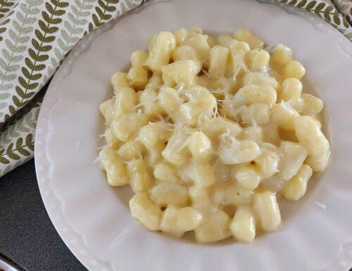Gnocchetti gorgonzola e mascarpone
