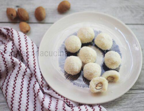 Tartufini cocco e mandorle
