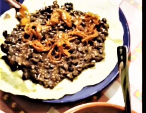 Tortillas di farina con fagioli Tex-Veg